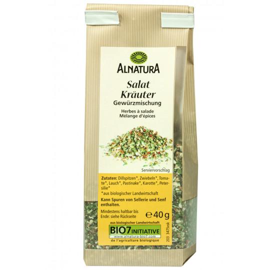 Alnatura Bio Salat Kräuter Gewürzmischung 40G