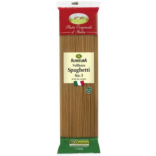Alnatura Bio Vollkorn Spaghetti No.3 500G
