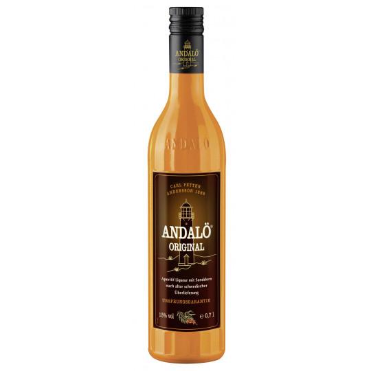Andalö Aperitif Liqueur mit Sanddorn 0,7 ltr