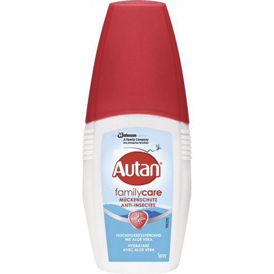 Autan Family Care Mückenschutz Pumpspray 100 ml