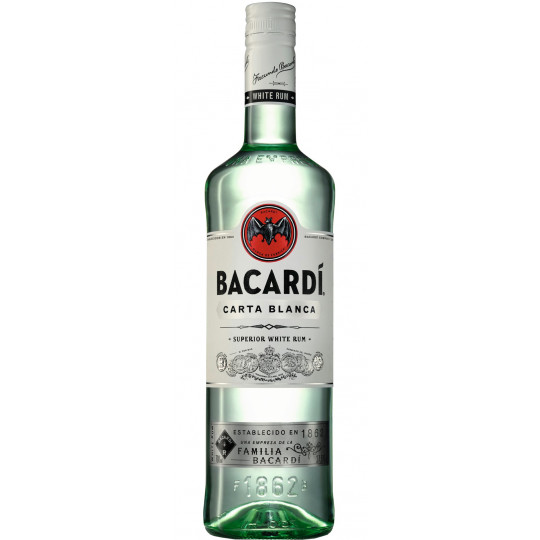 Bacardi Rum Carta Blanca 0,7 ltr