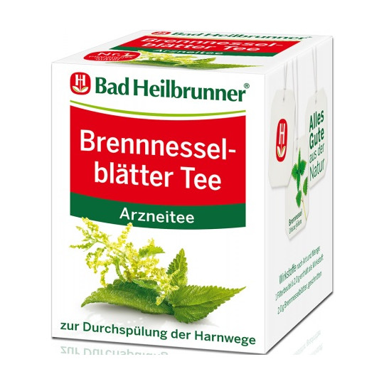 Bad Heilbrunner Brennnesselblätter Tee 8ST 16G