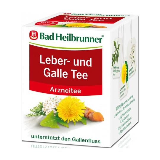 Bad Heilbrunner Leber & Galle Tee 8ST 14G