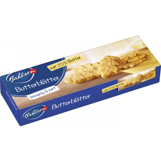 Bahlsen Butterblätter 125g