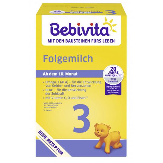 Bebivita 3 Folgemilch ab 10.Monat 500g