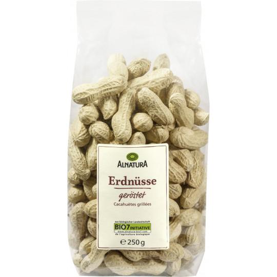 Alnatura Bio Erdnüsse geröstet 250G