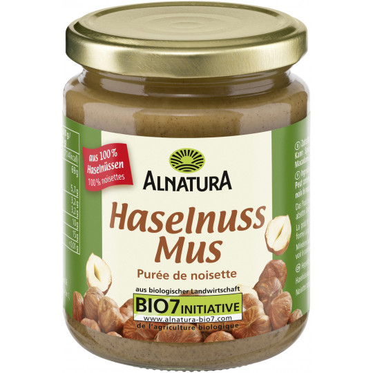 Alnatura Bio Haselnussmus 250G