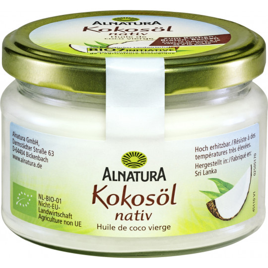 Alnatura Bio Kokosöl nativ 220ML