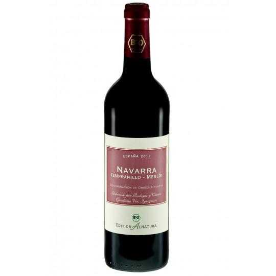 Alnatura Bio Navarra Tempranillo-Merlot trocken 0,75 ltr