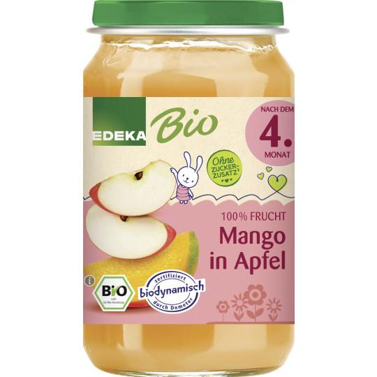 EDEKA Bio Mango in Apfel nach dem 4.Monat 190G