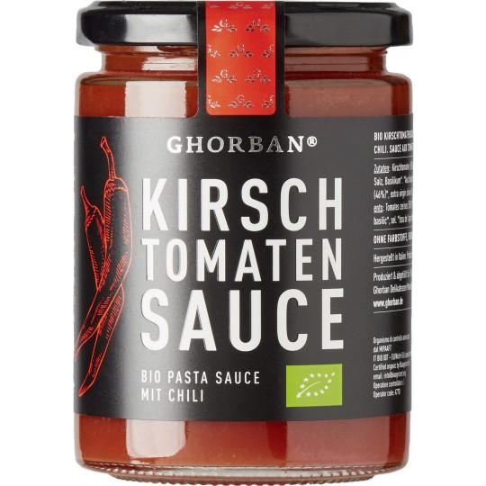 Ghorban Bio Kirschtomaten Sauce mit Chili 320G