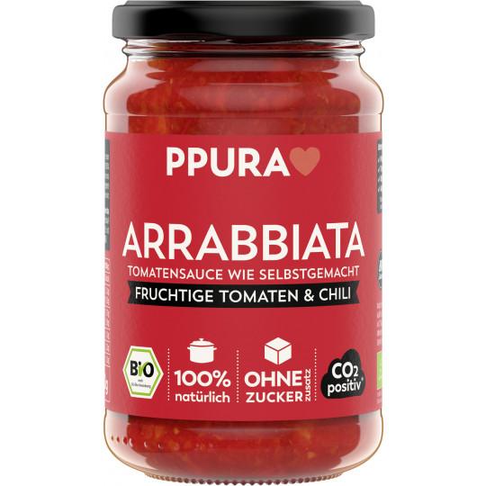 PPURA Bio Tomaten Sauce Arrabbiata 340G