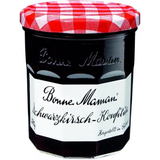 Bonne Maman Schwarzkirsch-Konfitüre 370 g