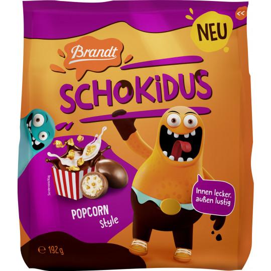 Brandt Schokidus Popcorn 192G