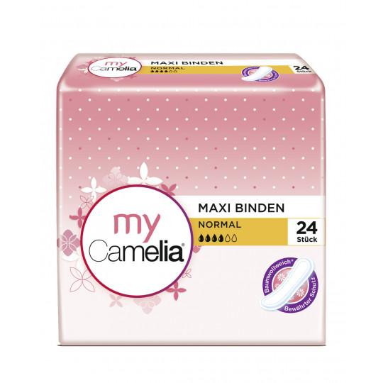 My Camelia Maxi normal Damenbinden 24ST