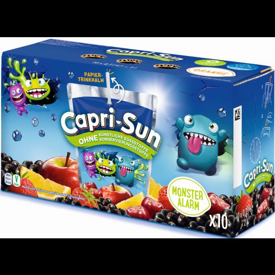 Capri-Sun Monster Alarm 10x 0,2 ltr