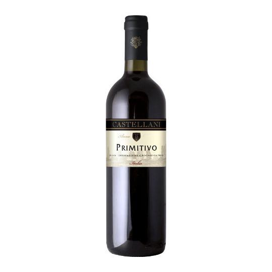 Castellani Primitivo Puglia Rotwein 0,75 ltr
