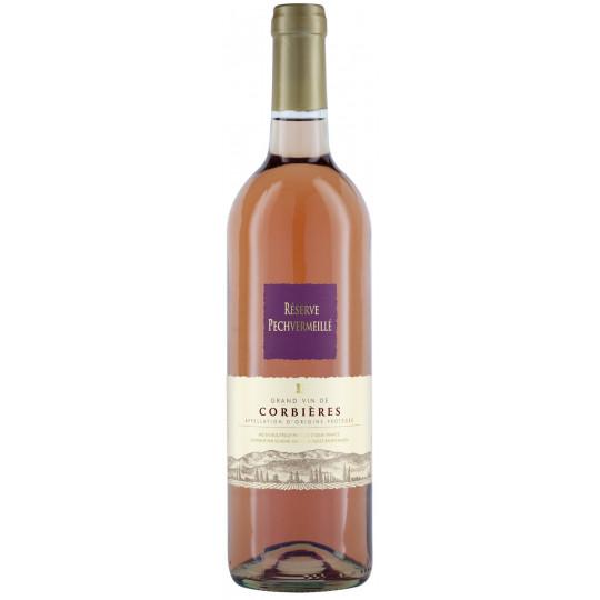 Réserve Pechvermeillé Corbières Rosé 0,75 ltr