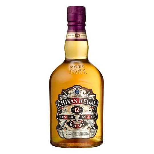 Chivas Regal 12 Jahre Blended Scotch Whisky 0,7 ltr