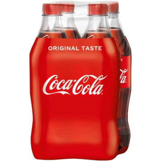 Coca-Cola 4X500ml PET