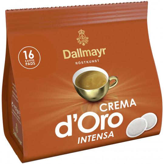 Dallmayr Crema d'Oro Intensa Kaffeepads 16ST 112G
