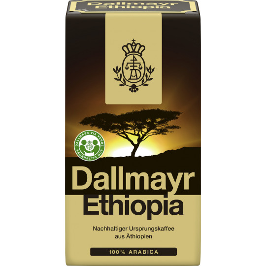Dallmayr Ethiopia Kaffee gemahlen 500G