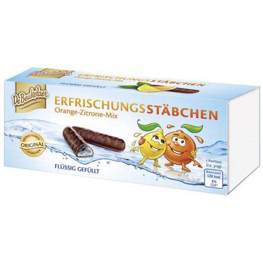 De Beukelaer Erfrischungsstäbchen Orange-Zitrone-Mix 75 g