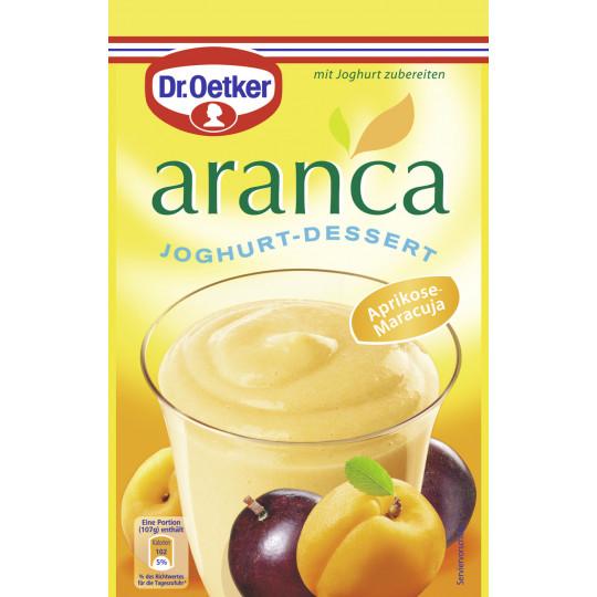 Dr.Oetker Aranca Joghurt-Dessert Aprikose-Maracuja 78 g