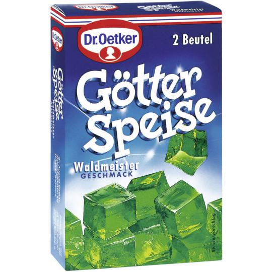 Dr.Oetker Götterspeise-Zubereitung Waldmeister 2x 11,5 g