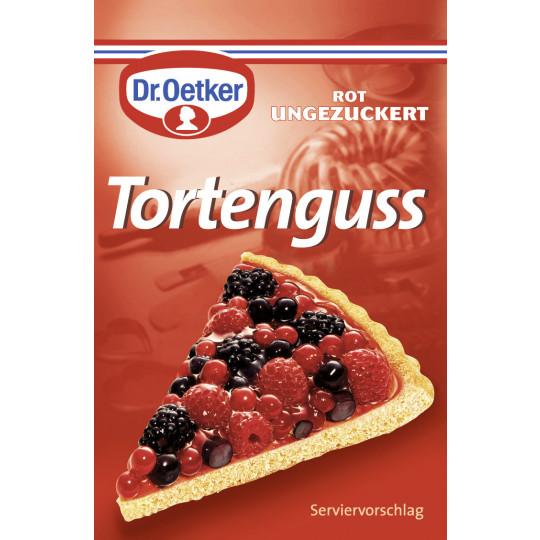 Dr.Oetker Tortenguss rot ungezuckert 3x 12 g