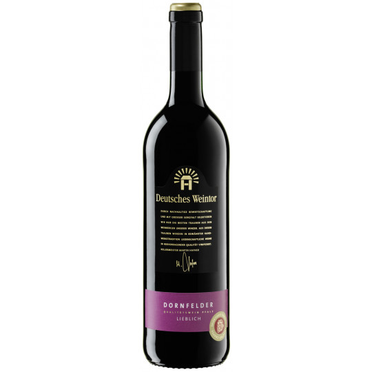 Deutsches Weintor Dornfelder lieblich 2017 0,75L