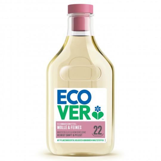 Ecover Feinwaschmittel flüssig Wolle & Feines Wasserlilie & Honigmelone 1L 22WL