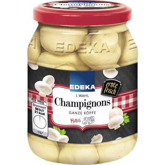 EDEKA Champignons 1.Wahl ganze Köpfe Minis 330G