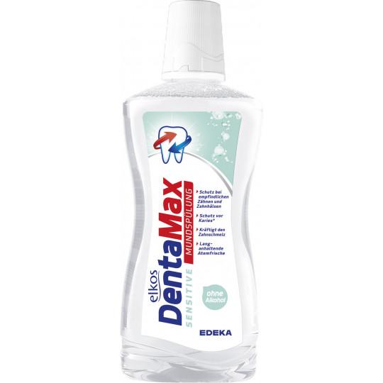 elkos DentaMax Mundspülung Sensitiv 500 ml