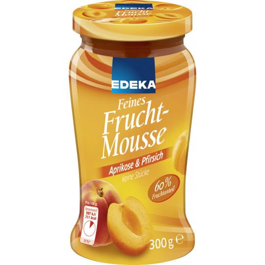 EDEKA Feines Fruchtmousse Aprikose & Pfirsich 300 g