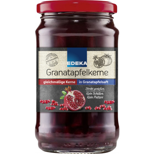 EDEKA Granatapfelkerne in Granatapfelsaft 310G