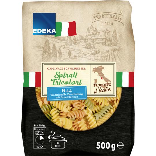 EDEKA Italia Spirali Tricolori 500 g