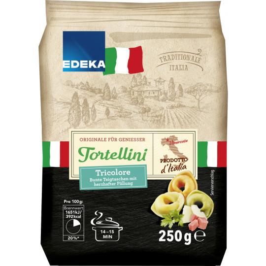 EDEKA Italia Tortellini Tricolore 250G