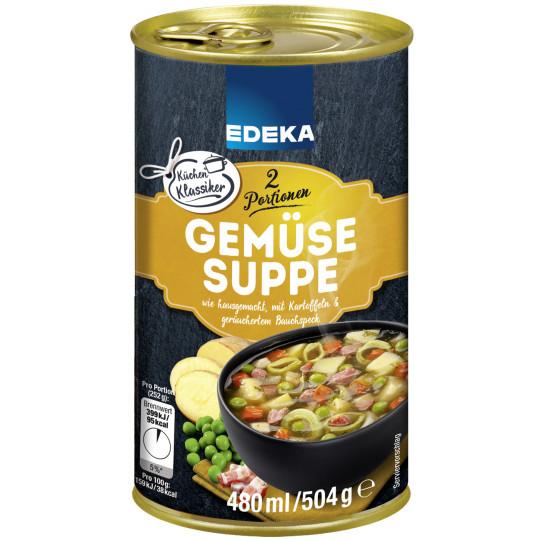 Edeka Gemüsesuppe 480 ml