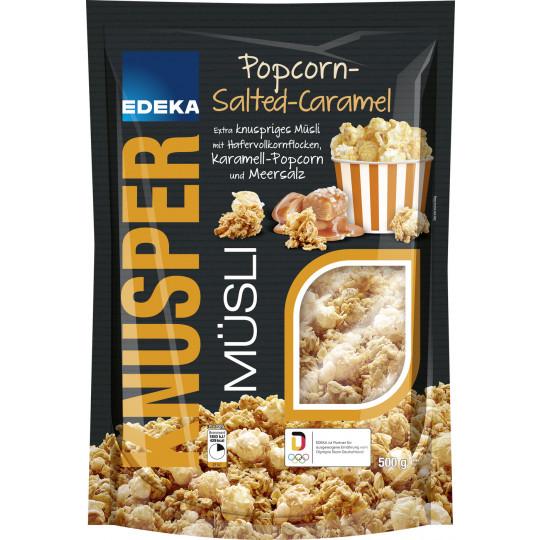 EDEKA Knusper Müsli Popcorn Salted Caramel 500G
