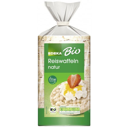 EDEKA Bio Reiswaffeln natur 100 g