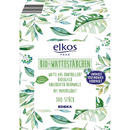 elkos Bio Wattestäbchen 300ST