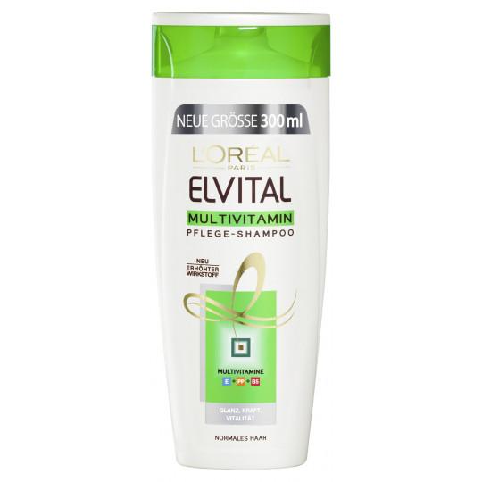 L'Oreal Elvital Multivitamin Pflege-Shampoo 0,3 ltr