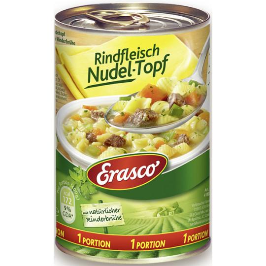 Erasco 1 Portion Rindfleisch Nudel-Topf 400G