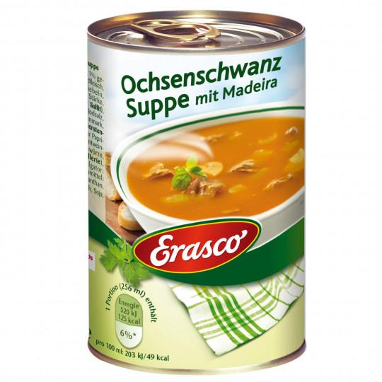 Erasco Ochsenschwanz Suppe mit Madeira Wein 385ML