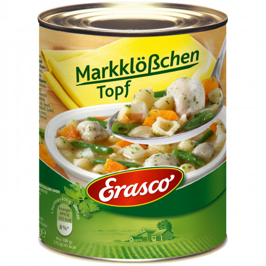Erasco Markklößchen Topf 800G