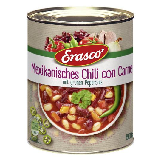 Erasco Mexikanisches Chili con Carne 800G