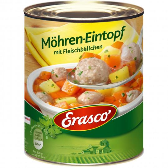 Erasco Möhren-Eintopf mit Fleischbällchen 800G