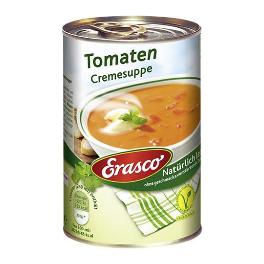 Erasco Tomaten Cremesuppe 390ML