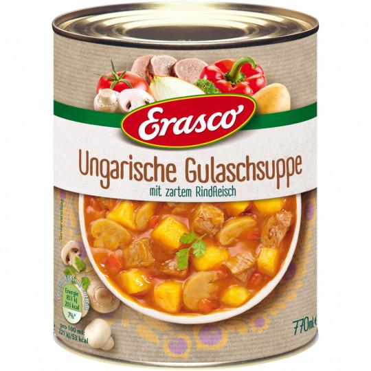 Erasco Ungarische Gulaschsuppe 770ML
